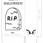 Printable Halloween Favor-Bags