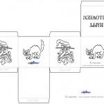Printable Halloween Favorboxes