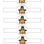 Printable Thanksgiving Napkin-Holders
