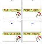 Printable Christmas Placecards