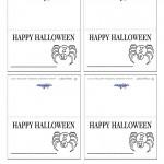 Printable Halloween Placecards
