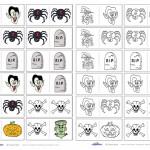 Printable Halloween Dominos